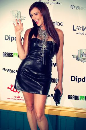 Jessica Sutta at First Annual Data Awards