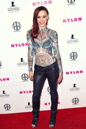 Jessica Sutta attends NYLON Magazine's Muses And Music Party