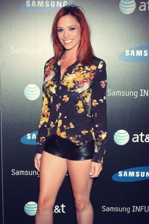 Jessica Sutta attends the Samsung Infuse 4G For AT&T Launch Event