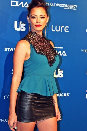 Jessica Sutta attends The Wanted Official Afterparty