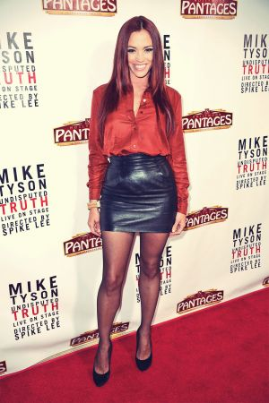 Jessica Sutta Opening Night Of 'Mike Tyson: Undisputed Truth