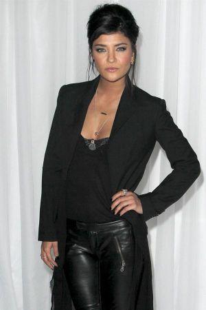 Jessica Szohr at the Sony PlayStationAE PS VITA Launch in LA