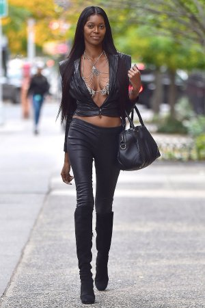 Jessica White steps out in a head turning outfit