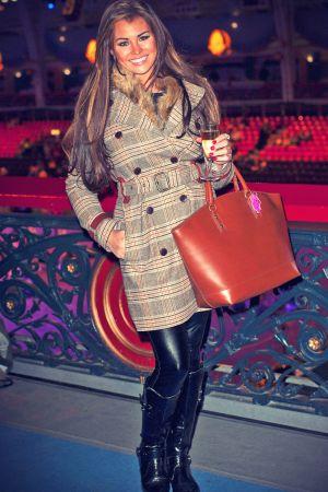 Jessica Wright at London International Horse Show