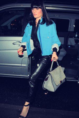 Jessie J at BBC Radio 1 in London