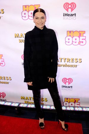 Jessie J attends HOT 99.5 Jingle Ball 2014