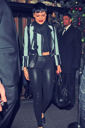 Jessie J leaving Annabel's private members club