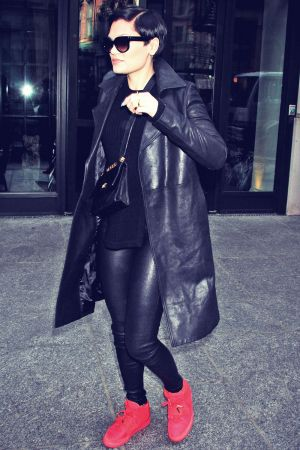Jessie J out and about in NYC