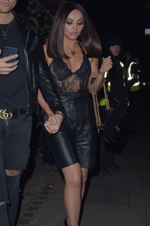 Jesy Nelson seen leaving Bunga Bunga Covent Garden