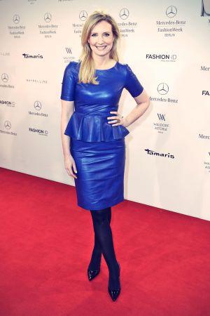 Jette Joop attends Mercedes-Benz Fashion Week