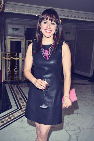 Jill Halfpenny attends Make-A-Wish Foundation Valentine's Ball
