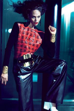 Joan Smalls at Mert Alas & Marcus Piggott Photoshoot