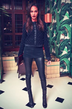 Joan Smalls attends Intimate Dinner to Toast Joan Smalls