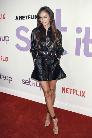 Joan Smalls attends Set It Up film screening