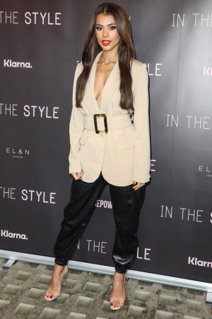 Joanna Chimonides attends Press Launch for The Style