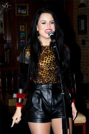 Joanna Levesque at Hard Rock Cafe