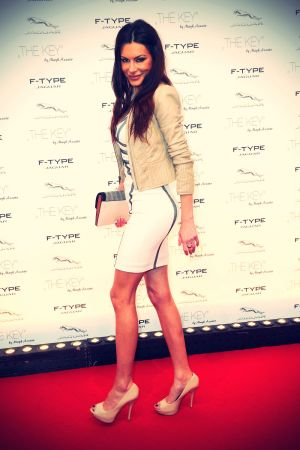 Joanna Tuczynska attends Premiere of the short film The Key