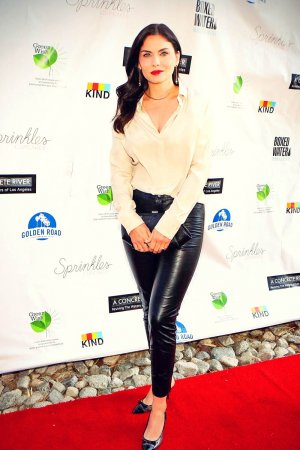 Jodi Lyn O' Keefe attends A Concrete River Reviving The Waters premiere