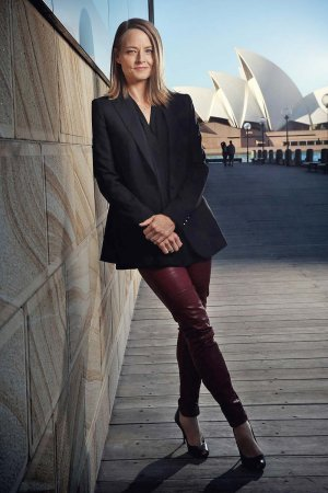 Jodie Foster photocall for Money Monster