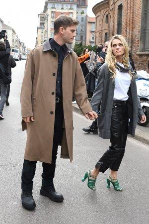 Jodie Spencer attends Salvatore Ferragamo show