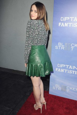 Joey King attends Captain Fantastic film premiere