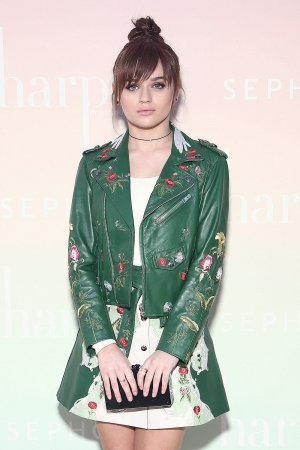 Joey King attends Harpers Bazaar Party