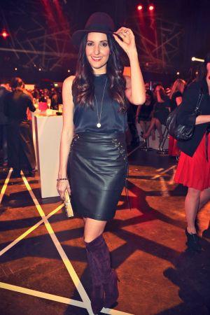 Johanna Klum at the BUNTE New Faces Award 2013