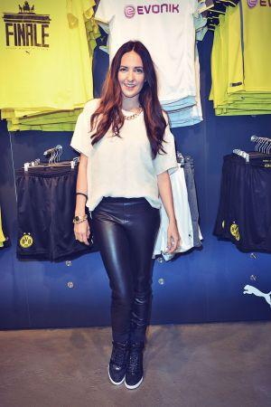 Johanna Klum attends PUMA Store Tauentzienstrasse