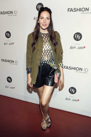 Johanna Klum attends the 'Designer for Tomorrow' after show party