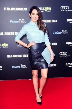 Johanna Klum attends the Fear The Walking Dead premiere