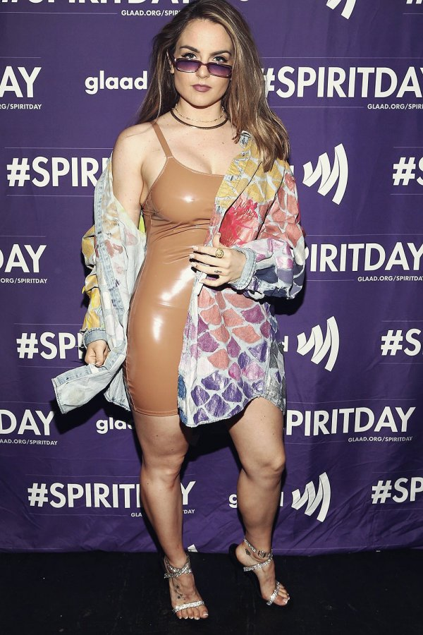 JoJo Levesque attends Justin Tranter and GLAAD Present 'BEYOND'