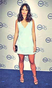 Jordana Brewster attends TNT 25th Anniversary Party