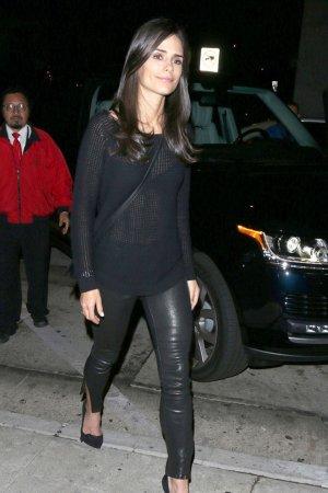 Jordana Brewster leaves Craig Restaurant