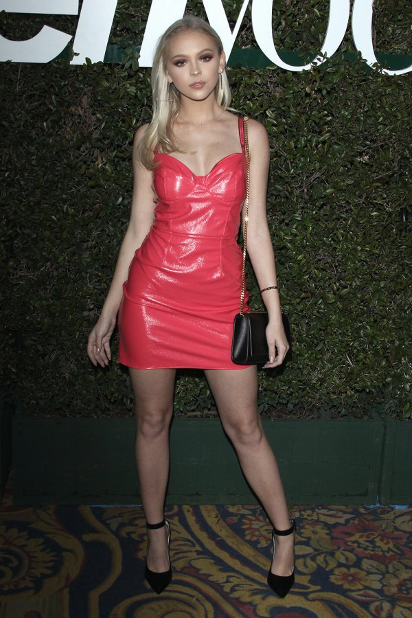 Jordyn Jones attends Teen Vogue's 2019 Young Hollywood Party