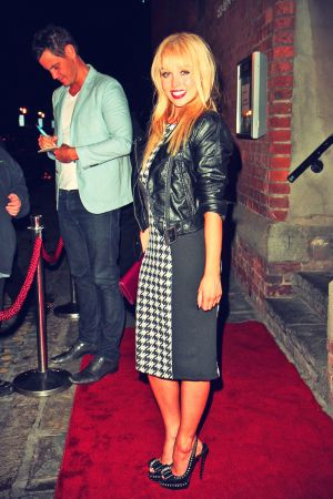 Jorgie Porter out and about in Liverpool