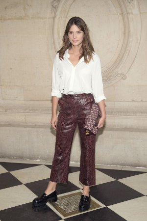Josephine Japy attends Christian Dior show