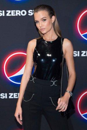 Josephine Skriver attends 2020 Super Bowl