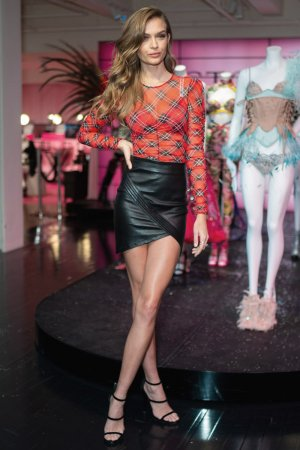 Josephine Skriver attends In New York City to Celebrate the Victoria Secret Fashion Show