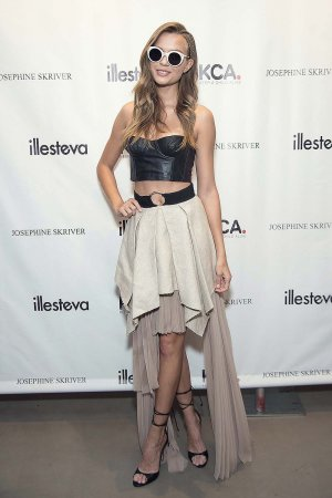 Josephine Skriver attends Josephine Skriver x Illesteva Benefiting Keep a Child Alive