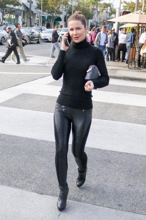 Josie Davis out in Los Angeles