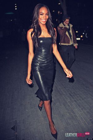 Jourdan Dunn at Skylon restaurant in London