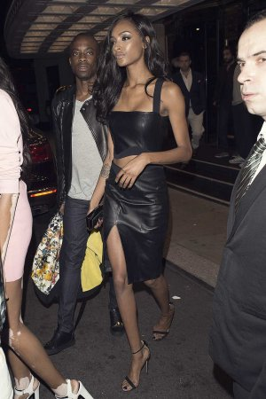 Jourdan Dunn attends London Fashion Week