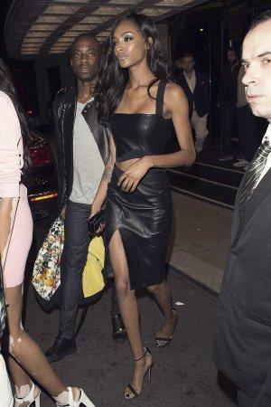Jourdan Dunn attends London Fashion Week
