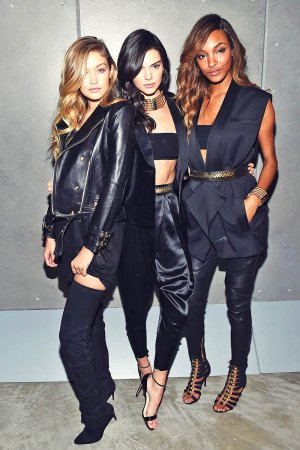 Jourdan Dunn attends the BALMAIN X H&M Collection Launch