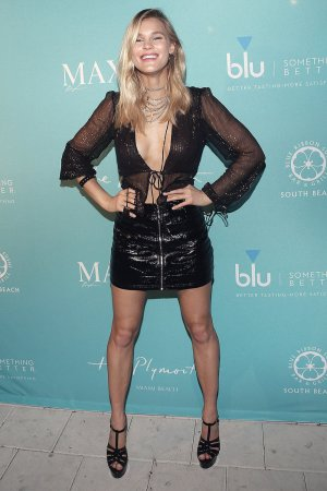 Joy Corrigan attends Maxim December Miami Issue Party