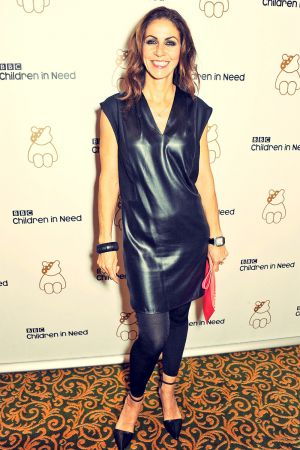 Julia Bradbury attends Children In Need Gala