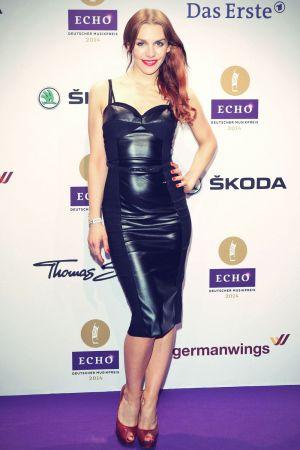 Julia Dietze attends ECHO 2014