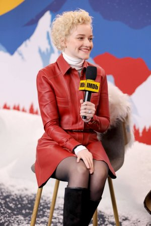 Julia Garner attends the IMDb Studio
