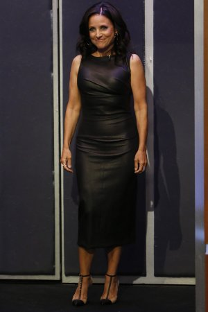 Julia Louis Dreyfus attends Jimmy Kimmel Live