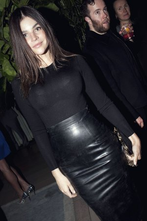 Julia Restoin-Roitfeld at Carine Roitfeld CR Girls Dinner